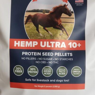 Hemp Ultra 10+ Protein Seed Pellets